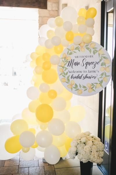 She Found Her Main Squeeze Lemon Theme Bridal Shower