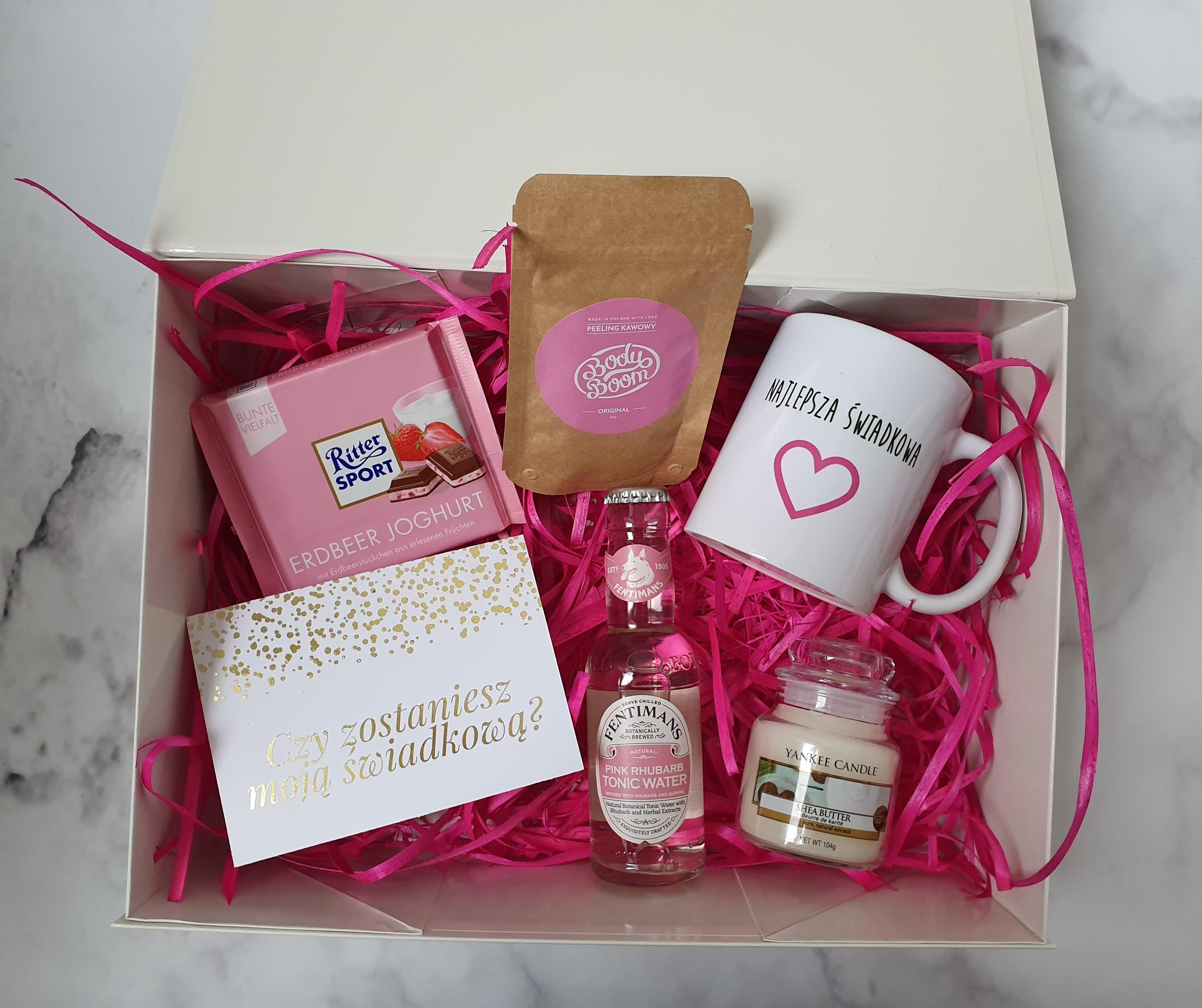 Box Dla Swiadkowej Wedding Gifts Gift Wrapping