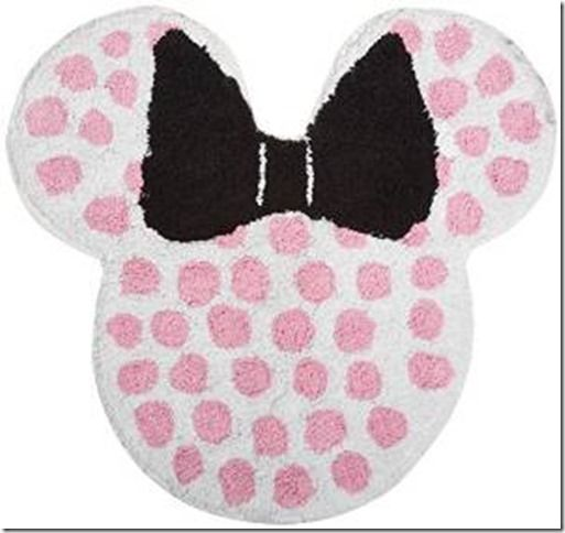 Disney Discovery Mickey Or Minnie Mouse Bath Rugs Minnie Mouse Bathroom Cotton Bath Rug Tufted Rug