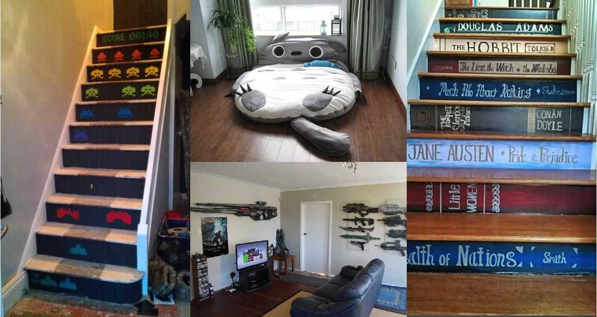 Cool Nerd Bedroom Ideas Geek Home Decor