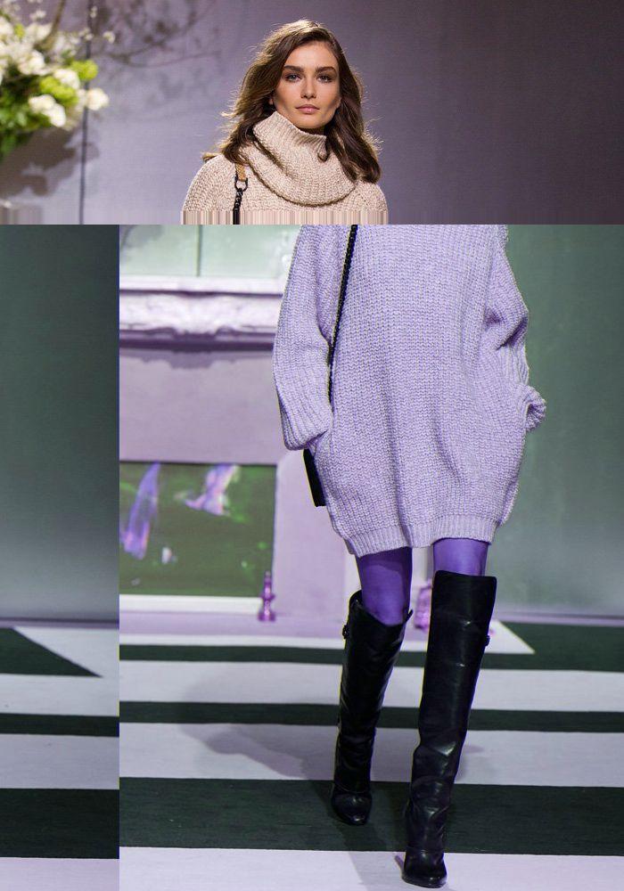 Gros pull robe oversize et cuissardes h m mode desiderata fw 2013 14 pinterest bottes - Comment porter un pull oversize ...