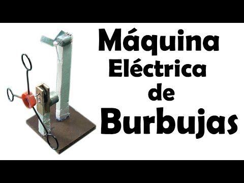 Máquina Fácil Como Hacer Una De Burbujas Eléctricamuy PZwuOiTklX
