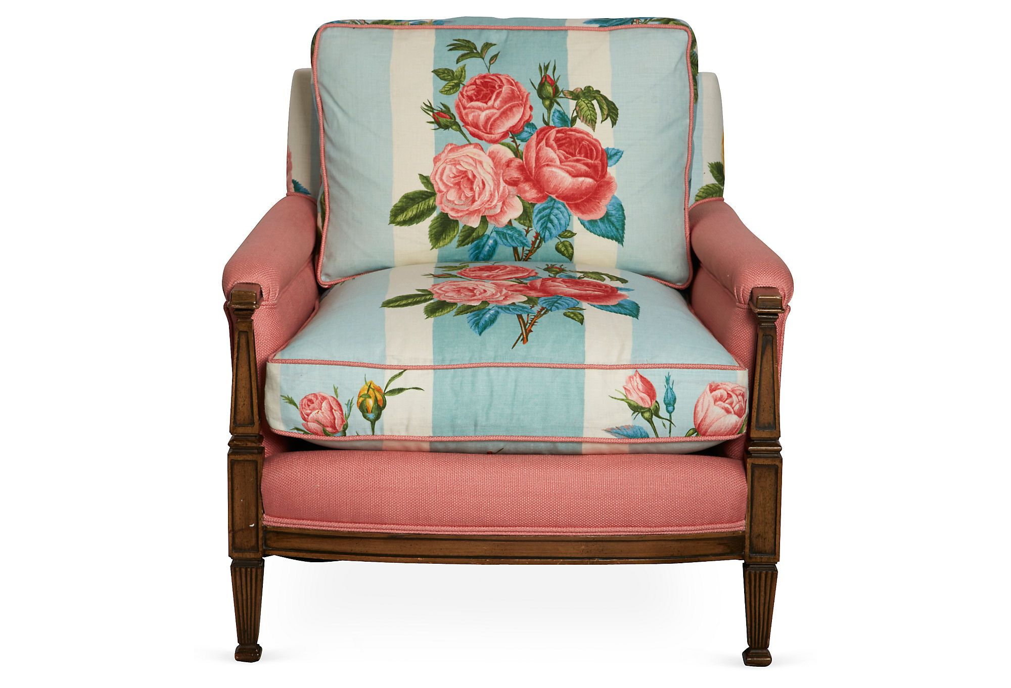 One Kings Lane - Madcap Cottage - Fabulous Floral Chairs, Pair