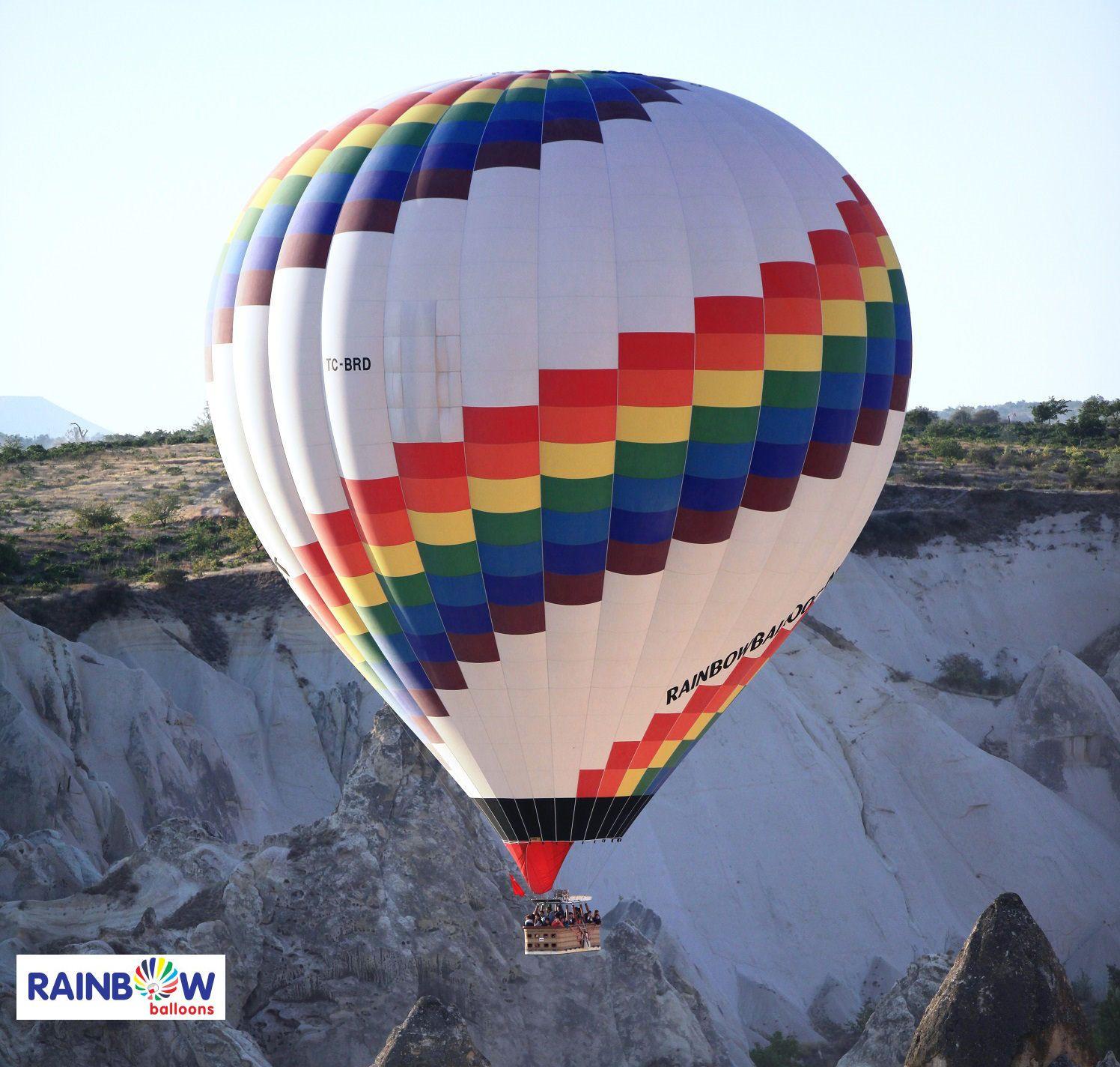 #Rainbowballoons #Balloon #Hotair #Cappadocia #Morning #Turkey #Trip #Sunrise #G…