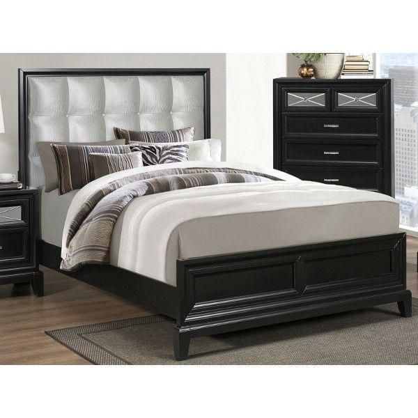 Good Elisa King Bed By Crown Mark