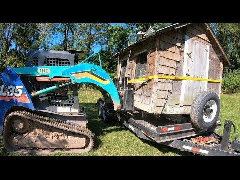 Moving a chicken coop - YouTube | Chickens backyard ...