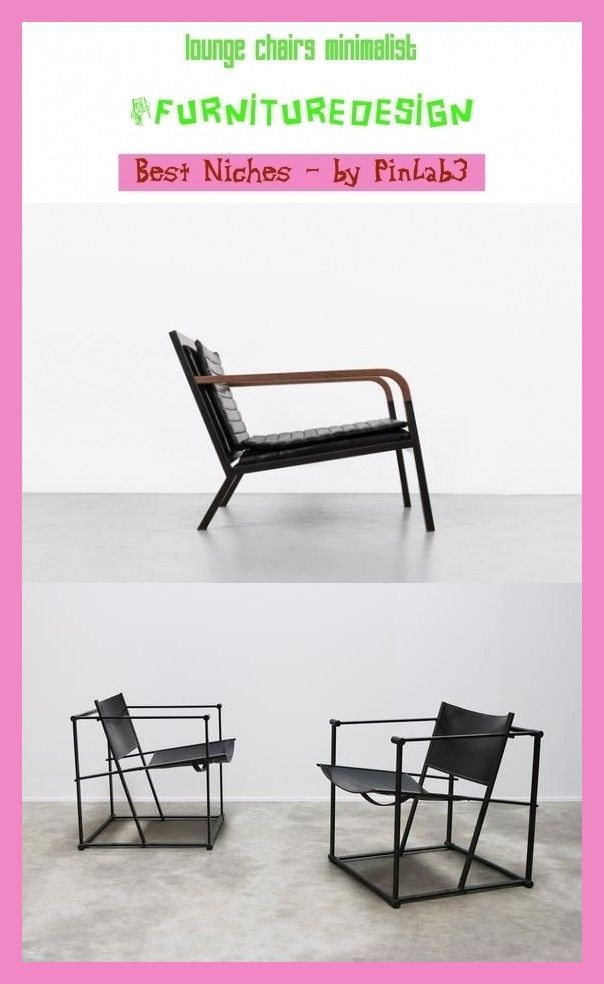 Lounge Stuhle Minimalistisch Furnituredesign Blo In 2020
