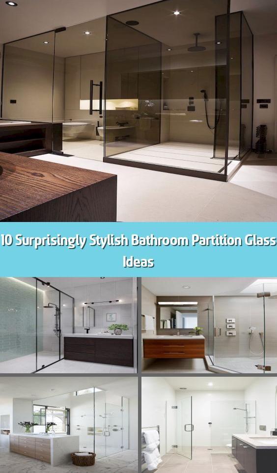 10 Surprisingly Stylish Bathroom Partition Glass Ideas ...