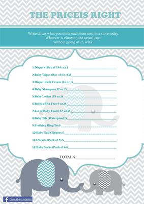 Baby Shower Elefante   Página Web De Diseñokitdecumpleaños