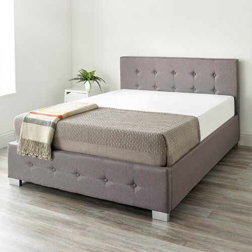 Admirable Eastway Upholstered Ottoman Bed 17 Stories Colour Grey Theyellowbook Wood Chair Design Ideas Theyellowbookinfo