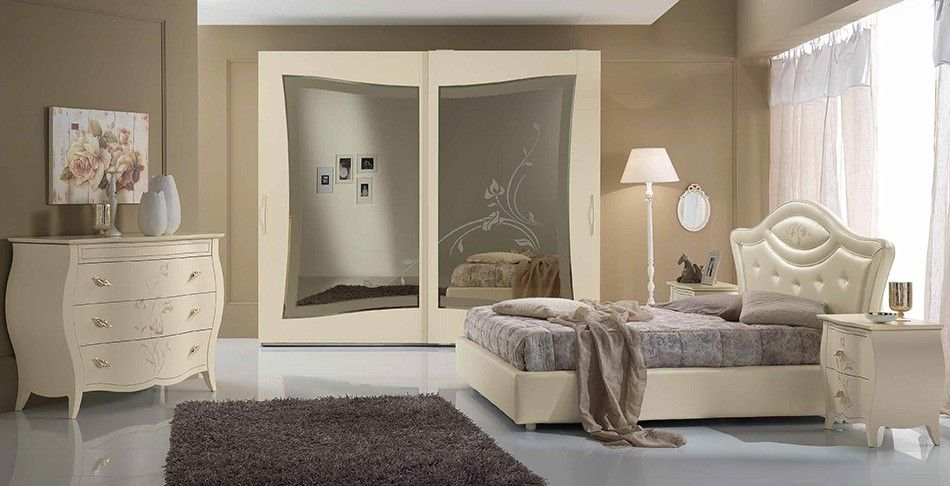 Upholstered Italian Bed / Bedroom Opera 02 by Spar - $3,085.00 ...