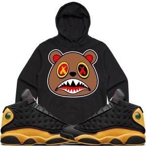 0e355f330276 Baws Hoodie HONEY BAWS Black Sneaker Hoodie - Jordan 13 Oak Hill Melo