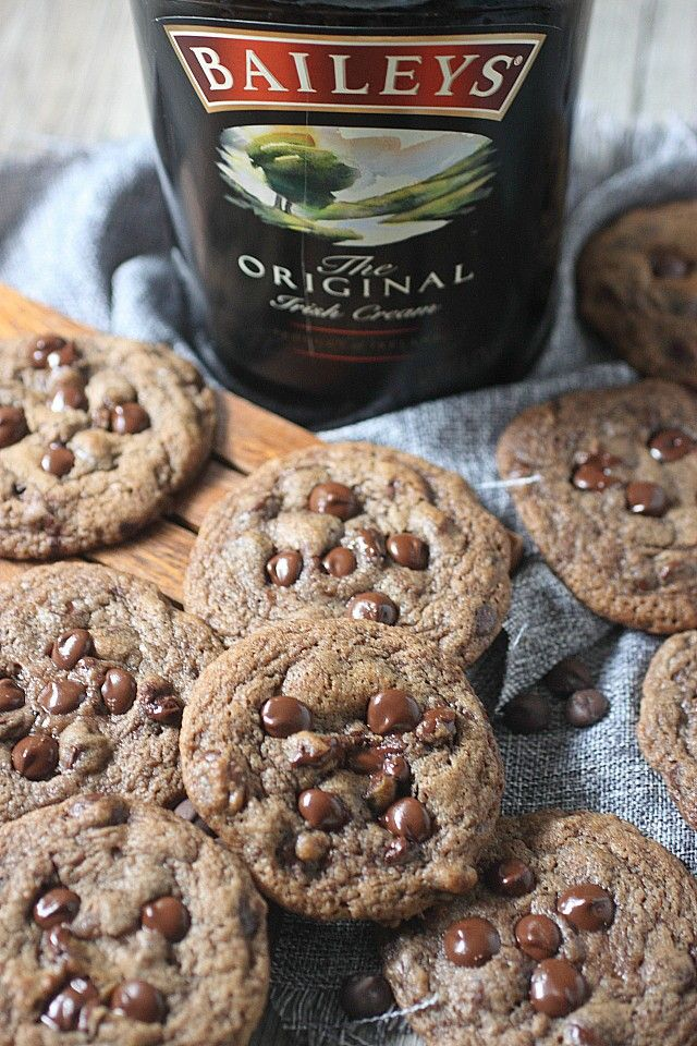 promo code 4feec 7d490 ... with chocolate chips in every bite, plus a generous pour of Bailey s  Irish cream. Chocolate Chips Cookies are now boozy! www.mind-over-batter.com