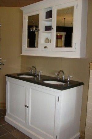 Landelijk badkamer meubel Traditional 130 cm van heck experience ...