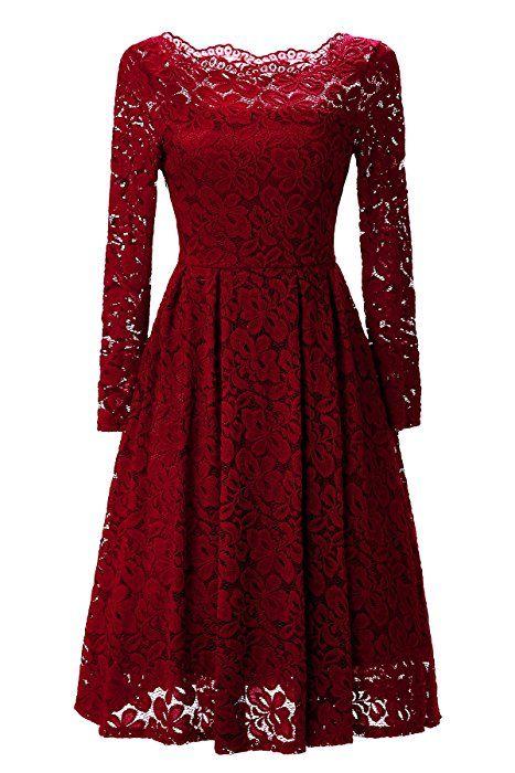 Festliche kleider damen rot