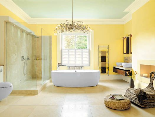 Bathroom Yellow Paint guest room - yellow paint? sundance -benjamin moore. so much