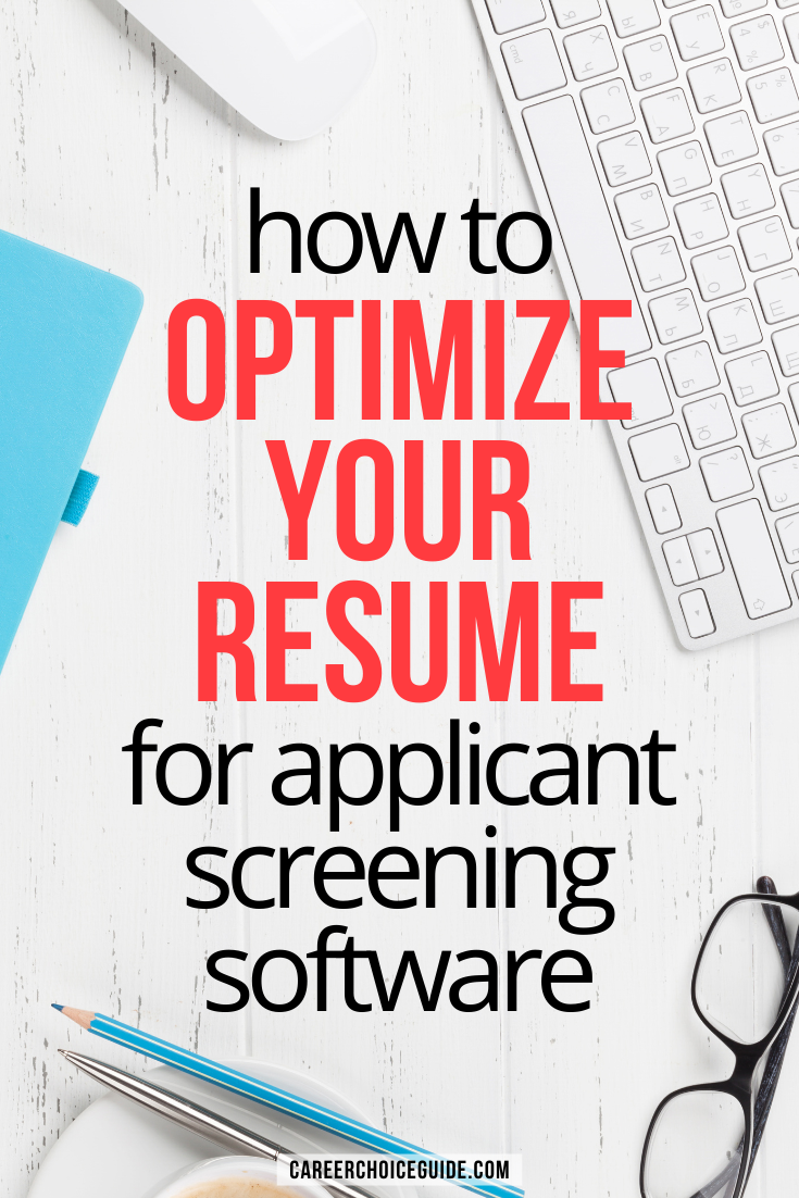Resume Formatting For Applicant Tracking Systems Resume Format Job Cover Letter Resume