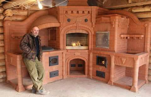 The Great Traditional Russian Wood Stove Heater Gotta Go Do It Yourself