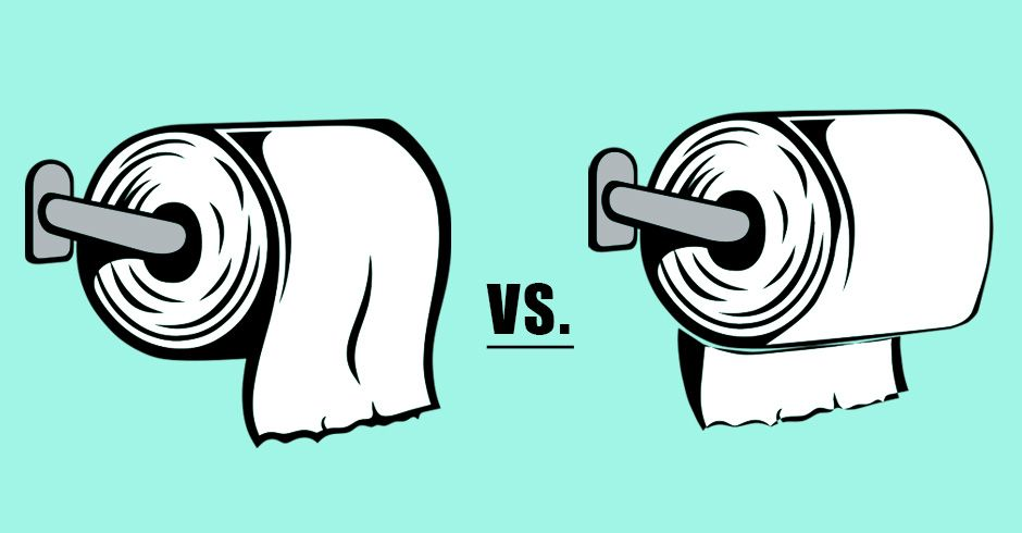 TP Etiquette: Over or Under? You Weighed In! - Farmers' Almanac