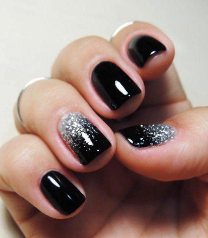 vernis ongles noir brillant. Black Bedroom Furniture Sets. Home Design Ideas
