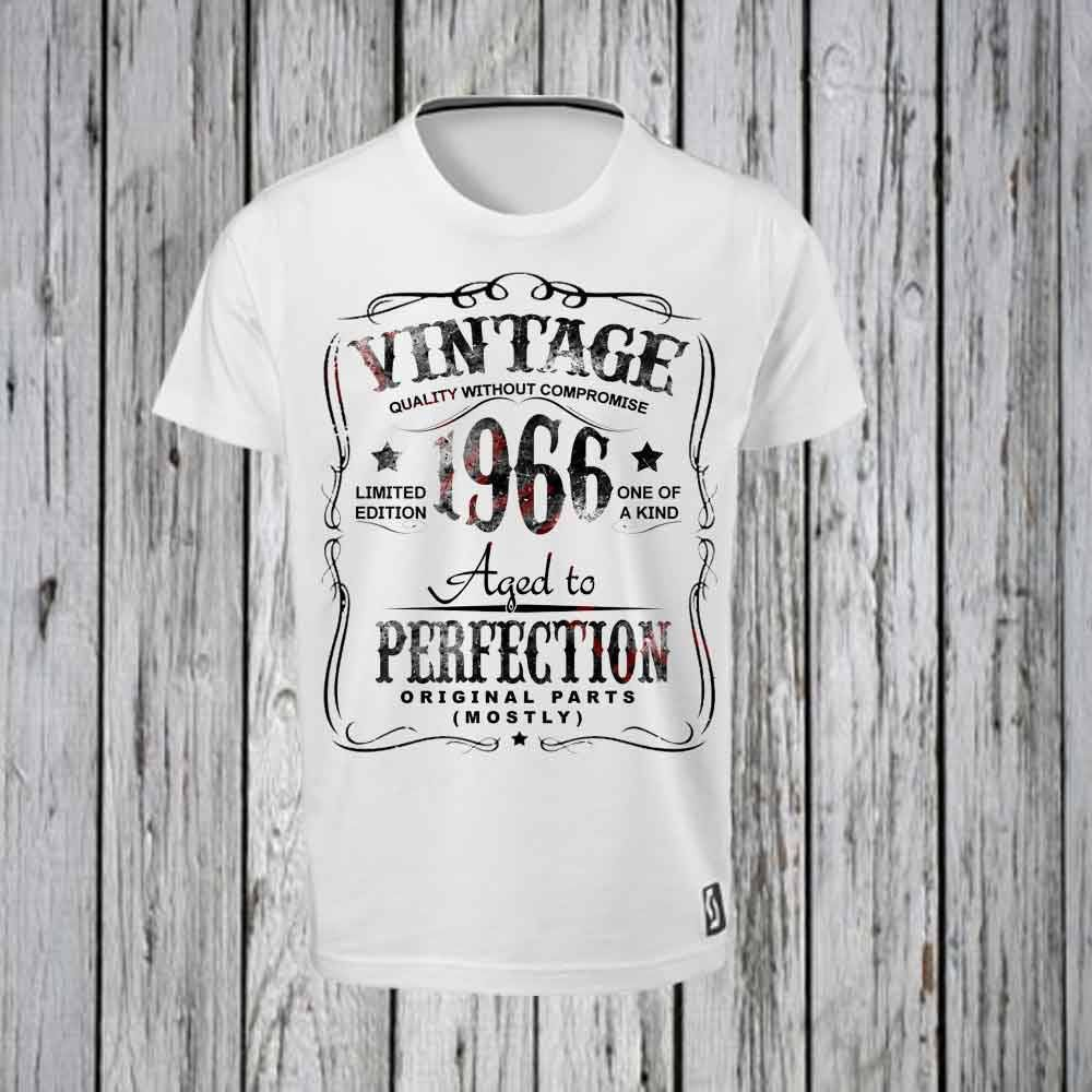 50th Birthday Iron Tshirt Design FILE ONLY Tee Shirt Fifty Party Aged To Perfection Over The HIll By