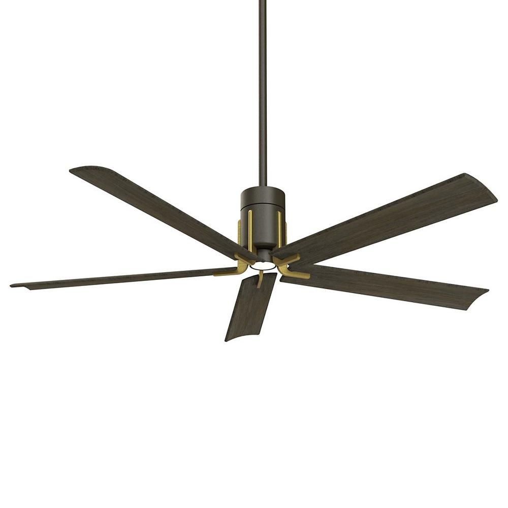 The Clean 60 Ceiling Fan By Minka Aire Fans Is Constructed From A
