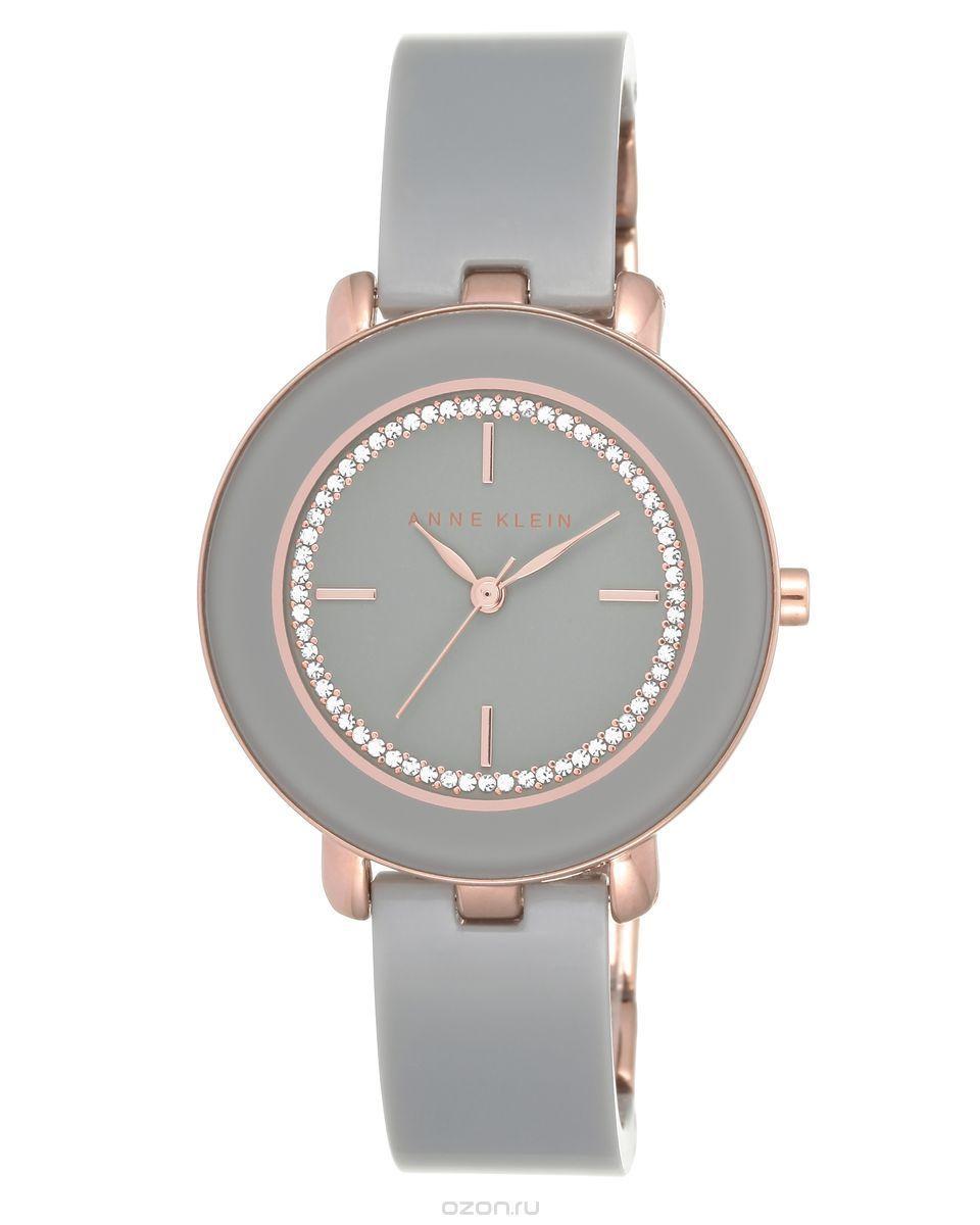 Наручные часы женские Anne Klein, цвет: серый. 1972RGGY