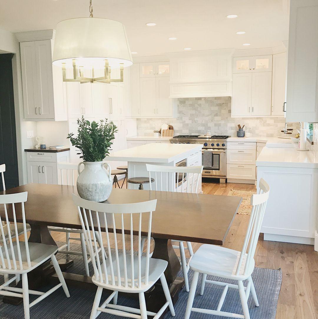 white, clean kitchen. Kitchen remodel See Instagram photos and ...