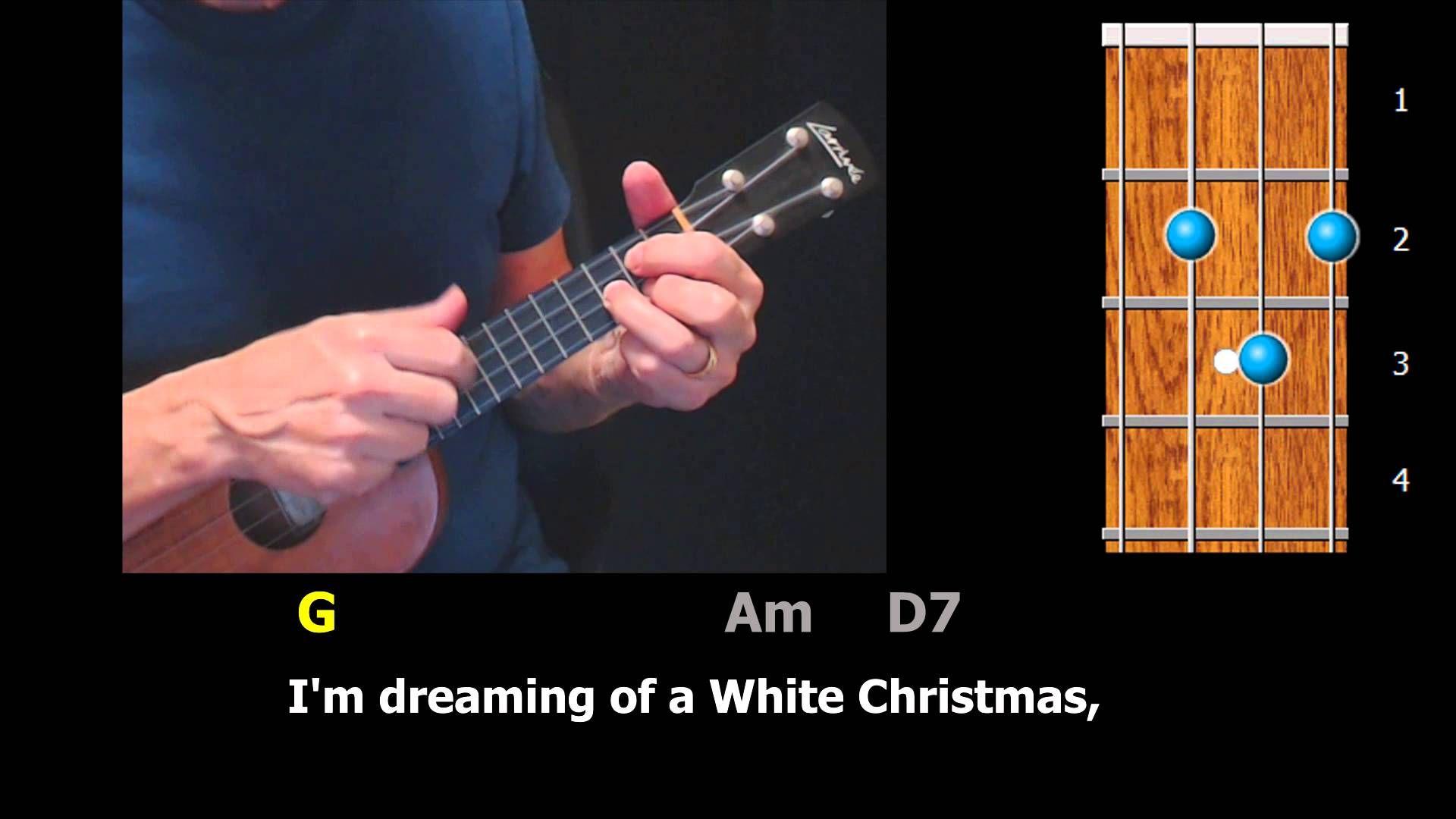 White Christmas Easy Ukulele StrumAlong Christmas
