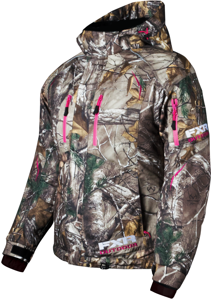 5d139e31f84 FXR Racing - Snowmobile Gear - Women s Fresh Jacket - Realtree Xtra ...