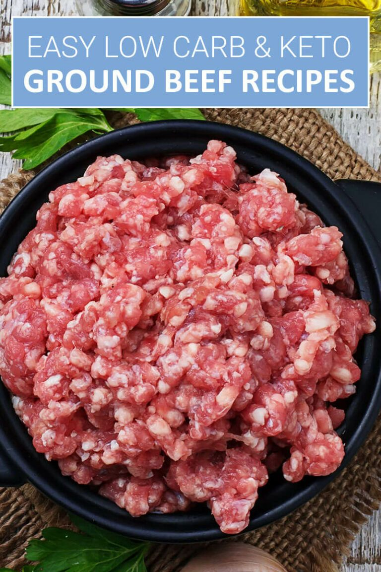 Easy Keto Ground Beef Recipes That Actually Taste Delicious images