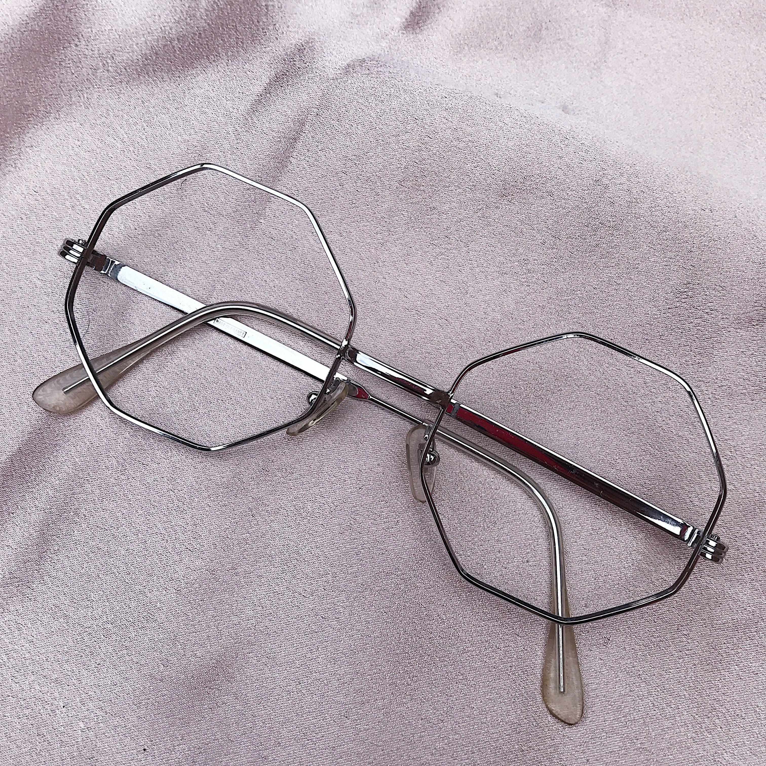 Oculos Hexagonal Made In France Armacao Estilo Hexagonal Feito