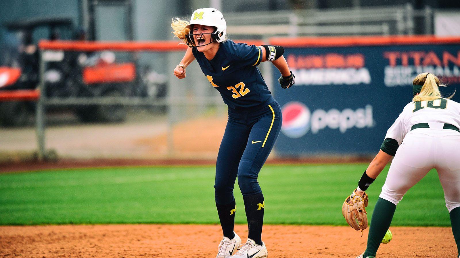 Haley Hoogenraad Softball University of Michigan
