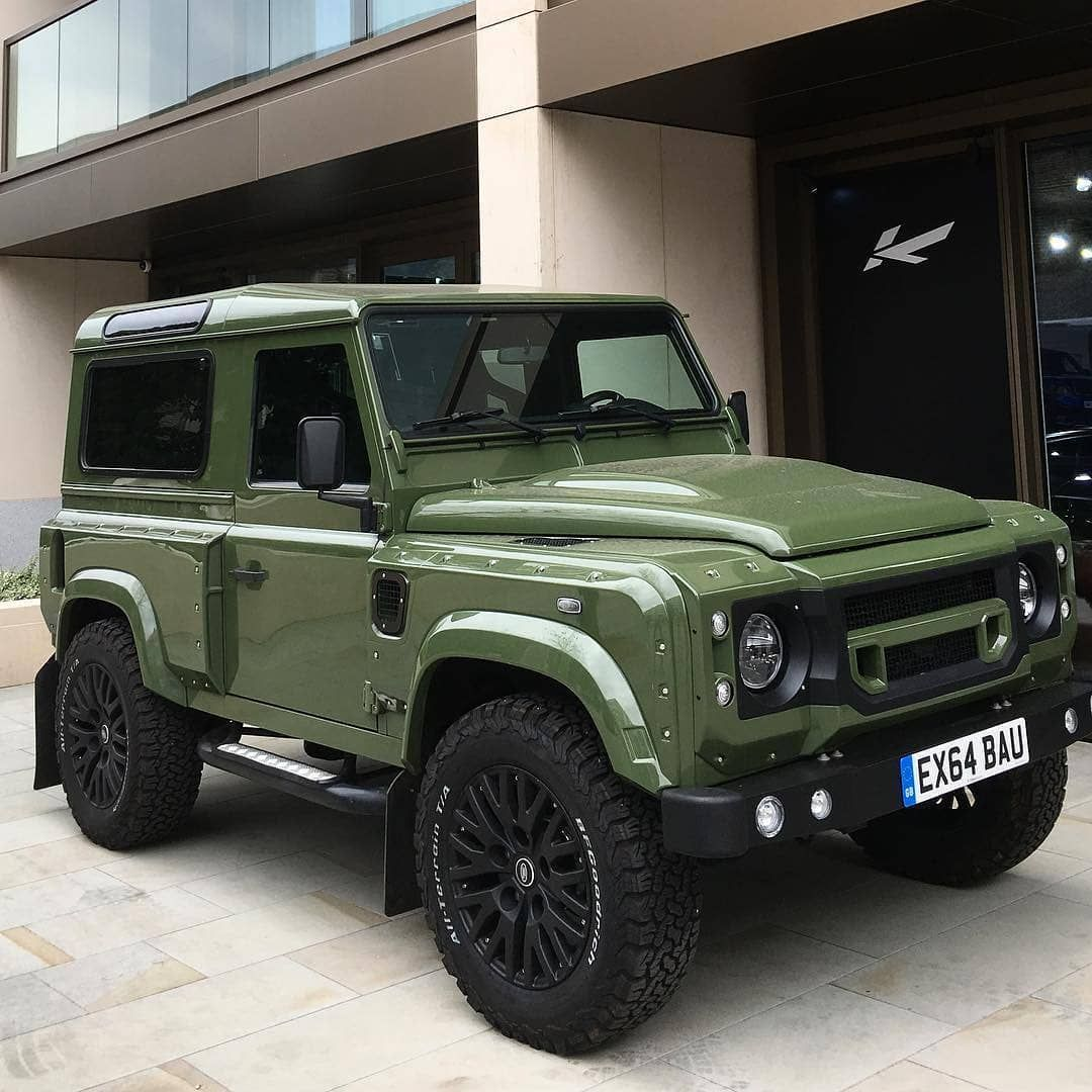 Fungus Green Kahn Defender By Chelseatruckco Afzalkahn Follow Us