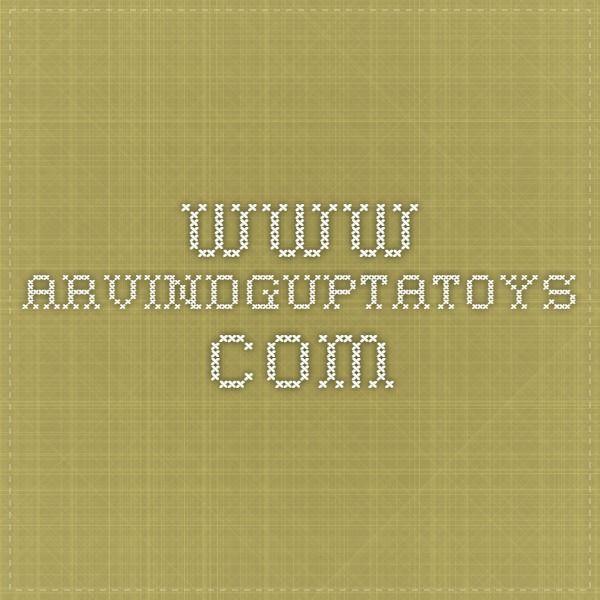 www.arvindguptatoys.com