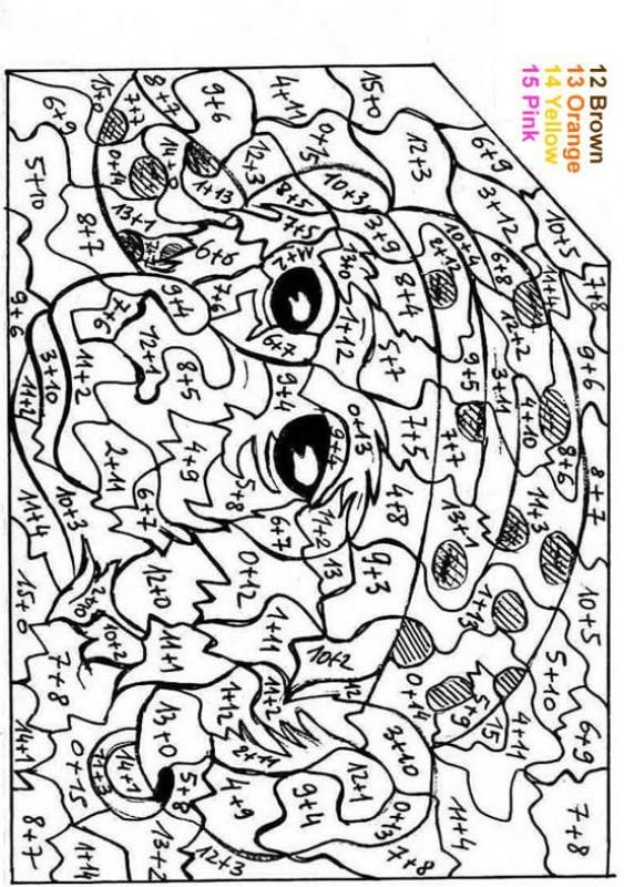 Characters Color By Number Coloring Pages Witch Color By Numbers Witch Coloring Pages Coloring Pages