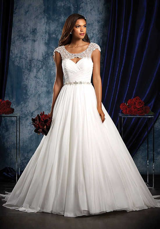 Alfred Angelo Sapphire Bridal Collection 964 Ball Gown Wedding Dress
