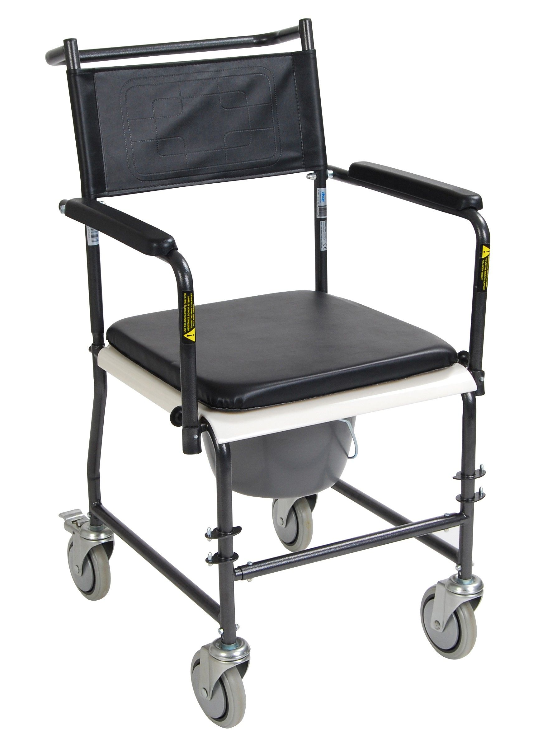 Packed with features, the portable upholstered wheeled
