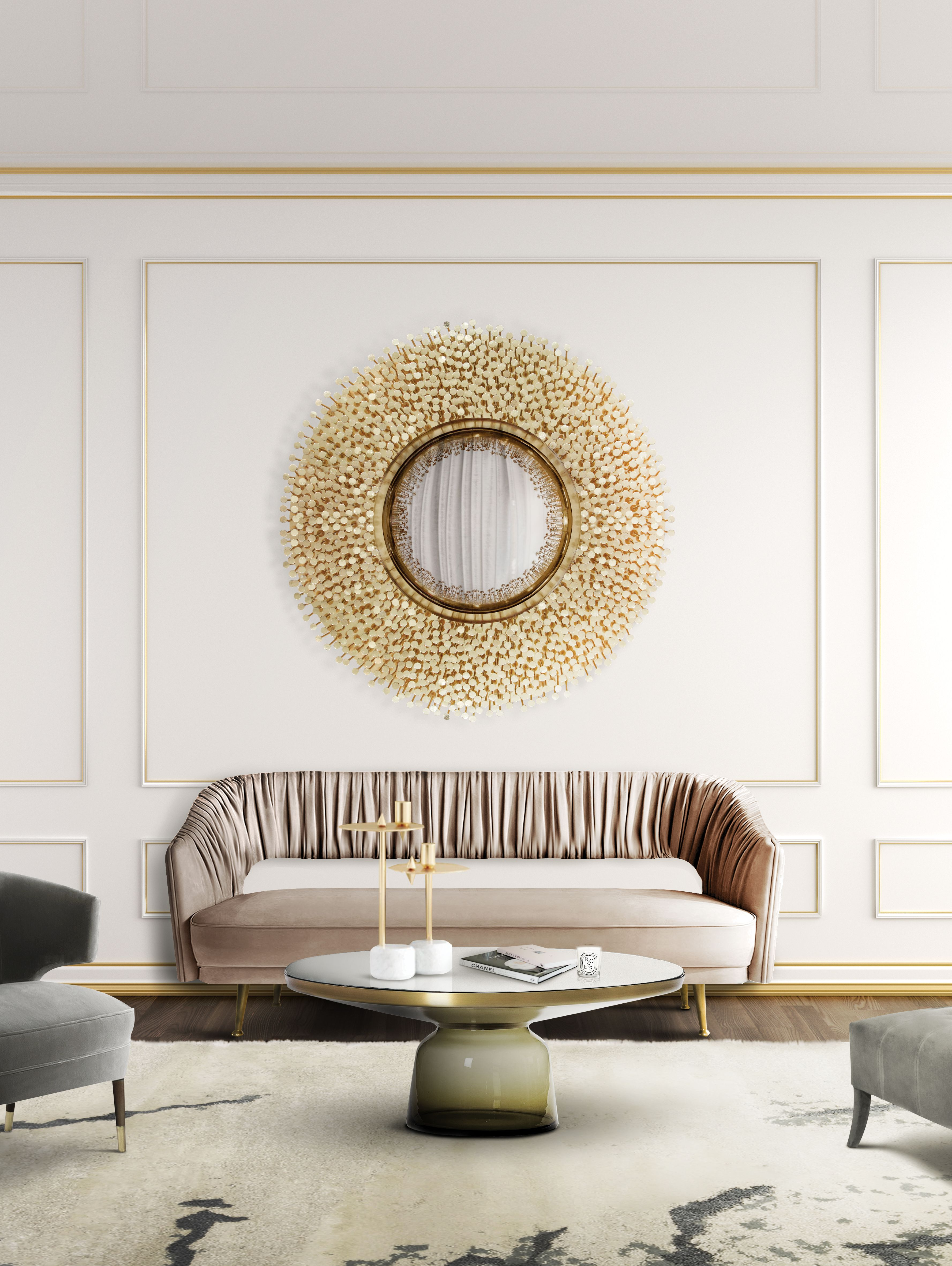 Robin Mirror Exclusive Furniture   Fresh living room, Living room ...