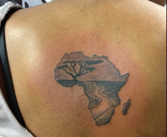10 tattoos of african continent ink pinterest africans tattoo rh pinterest co uk africa continent tattoo african continent tattoo