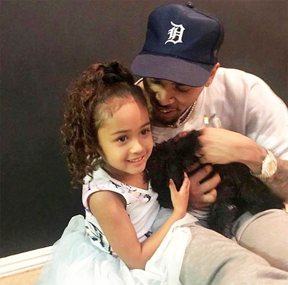 Chris Brown's Latest Photo With His Gorgeous Daughter, Royalty, Has Fans In Awe