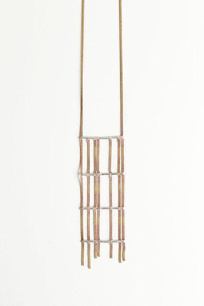 HANNAHK Grid Necklace