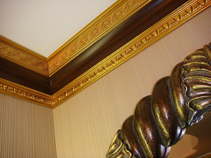 Majestic Gold Wooden Ceiling Design For Luxurious Room Decoration Fascinating Wooden Ceiling Designs For Living Room