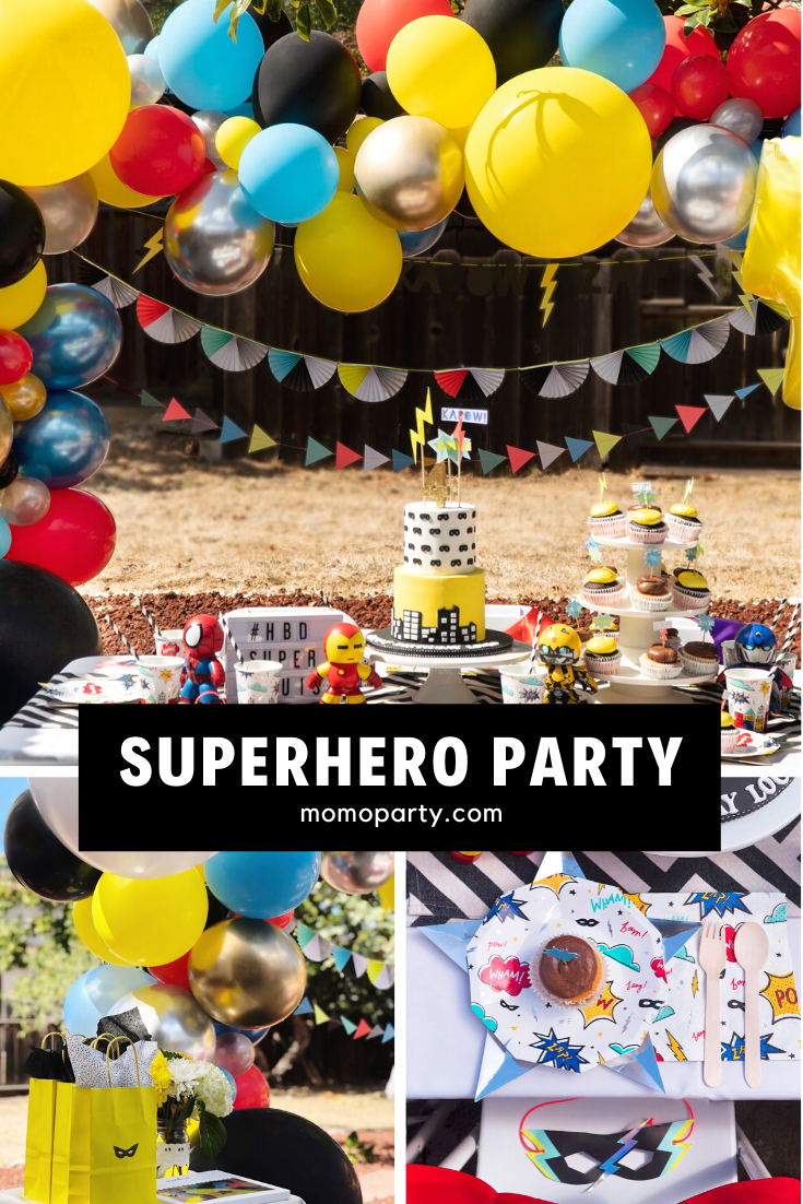 Boys Superhero Birthday Party Ideas