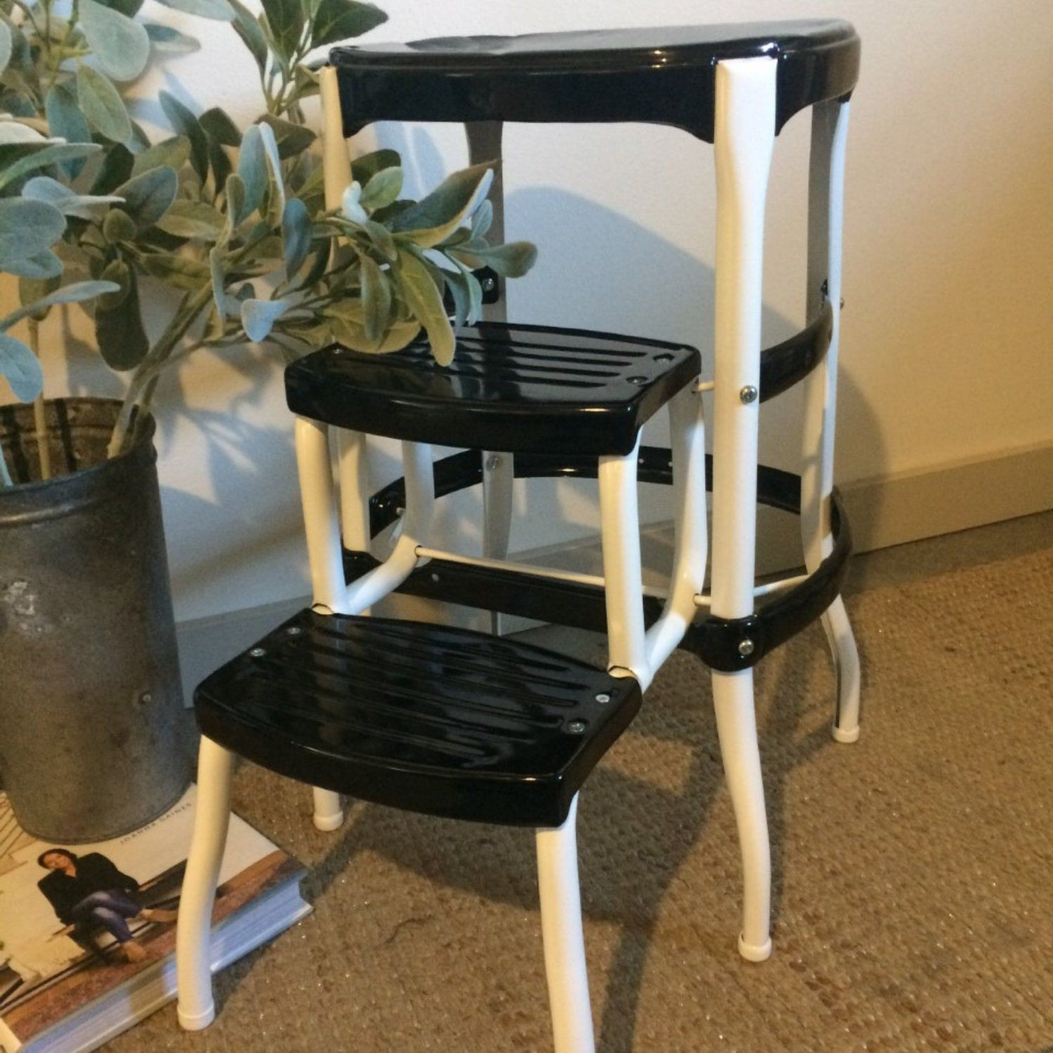 Excellent Restored Cosco Kitchen Stool Vintage Mid Century Modern Pabps2019 Chair Design Images Pabps2019Com