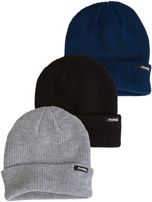 800c43e80f5d7 ANALOG BURGLAR 3PK BEANIES   Mens   Accessories   Hats