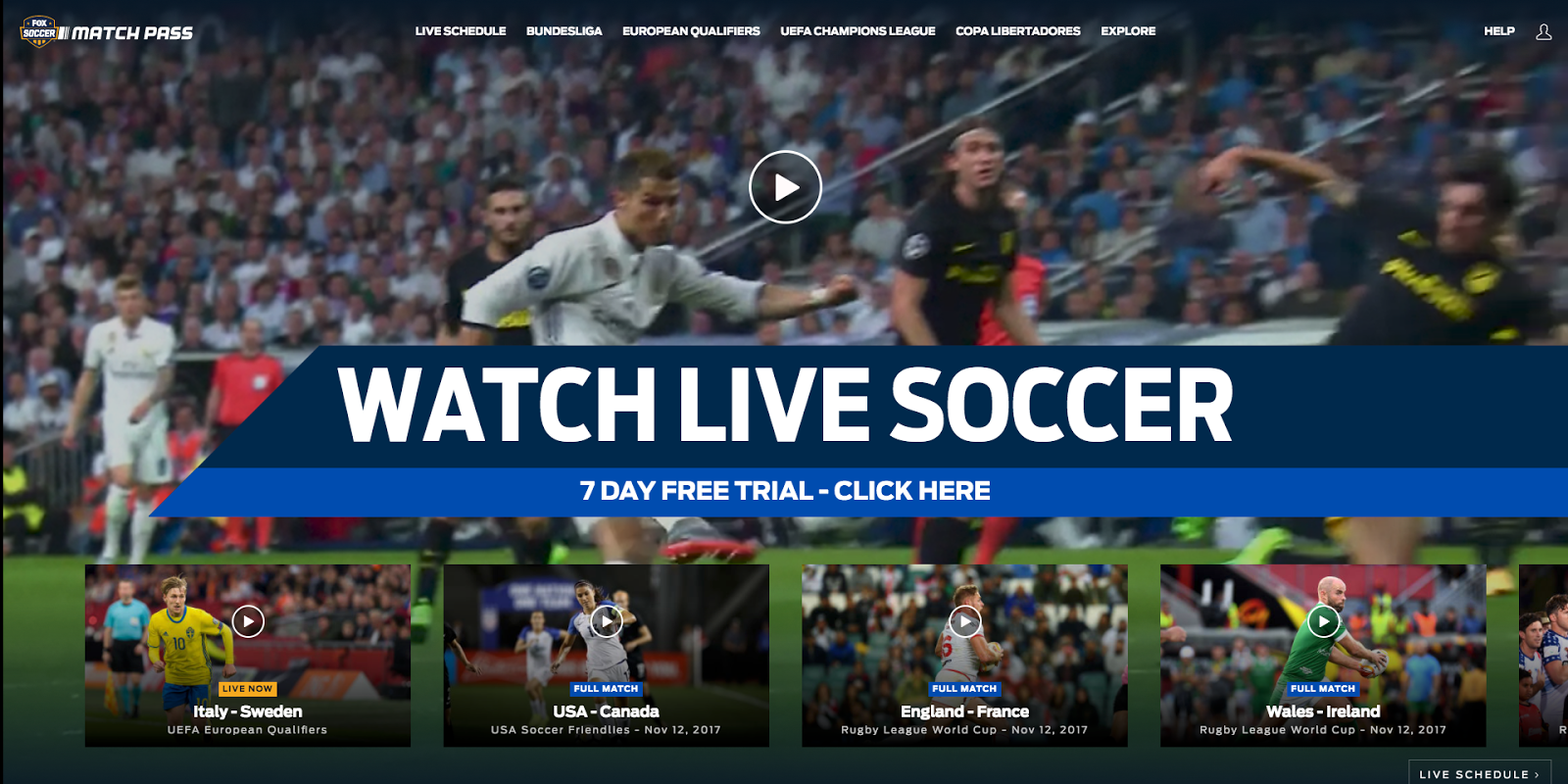 Free Unlimited Access To Hd Streaming Sports Top 8 Sports Streaming Sites After Evaluating The Entire List O Live Soccer Soccer Match Fun Sports