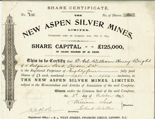 Silver certificate BLT Pinterest Certificate - company share certificates