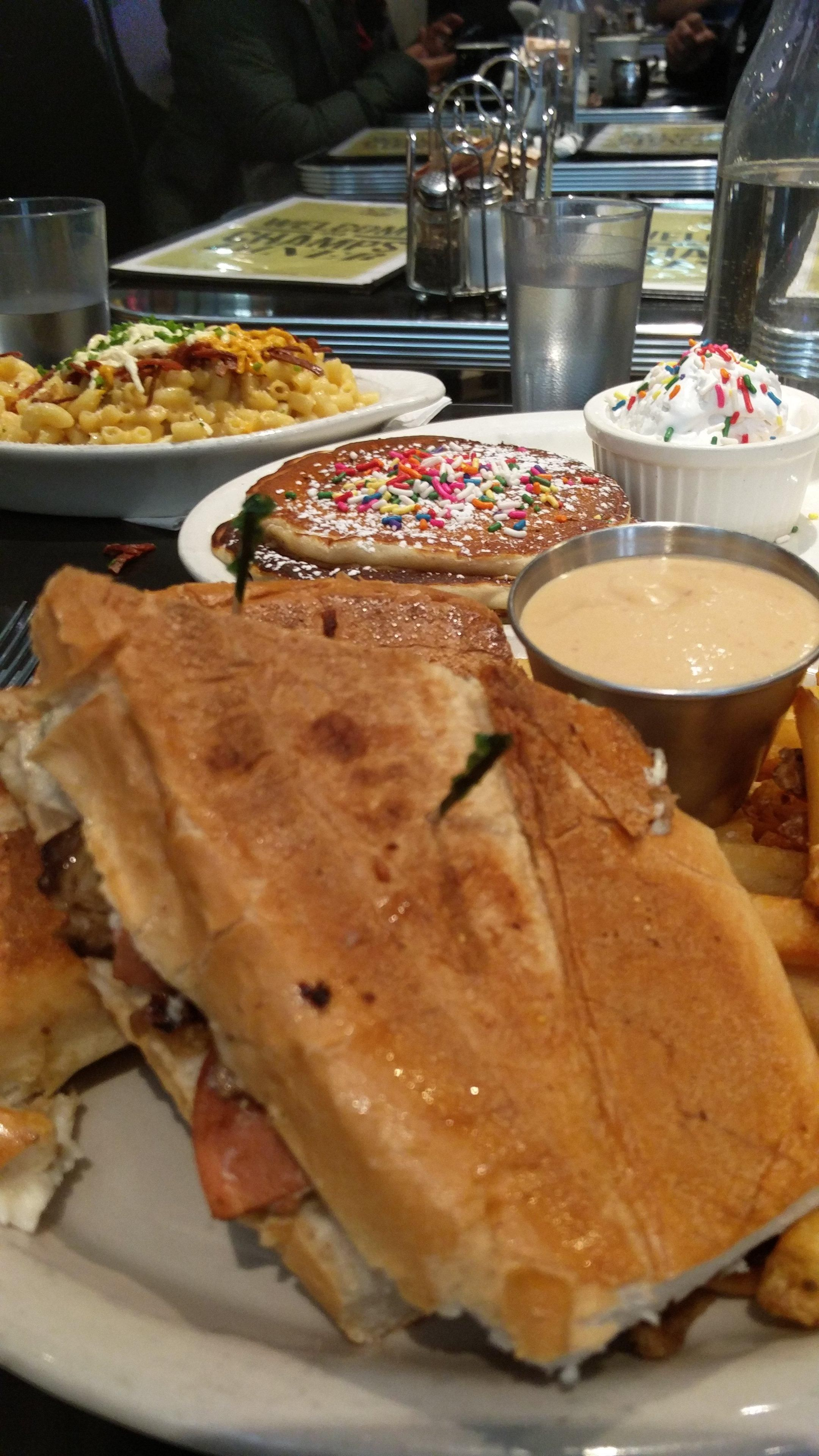 Brooklyn All Vegan Champs Diner Huge Menu The Cubano And Reuben Were Awesome Look Forward To Trying Many Other Dishes