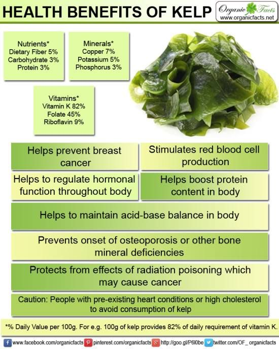 kelp iodine benefits
